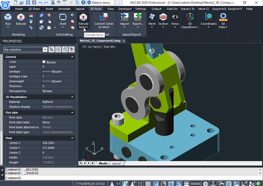 2d and 3d CAD