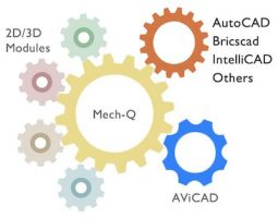 MechQ - Mechanical CAD Software -Supports AutoCAD, AViCAD & more