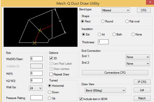 Hvac    Ducting Software
