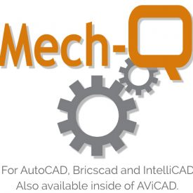 Advanced duct drawing software for AutoCAD and IntelliCAD