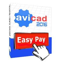 avicad 2016 easy pay