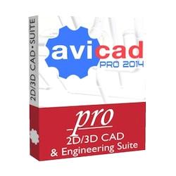 AViCAD Pro CAD Software