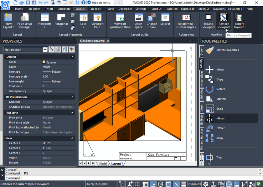 AViCAD - Complete CAD