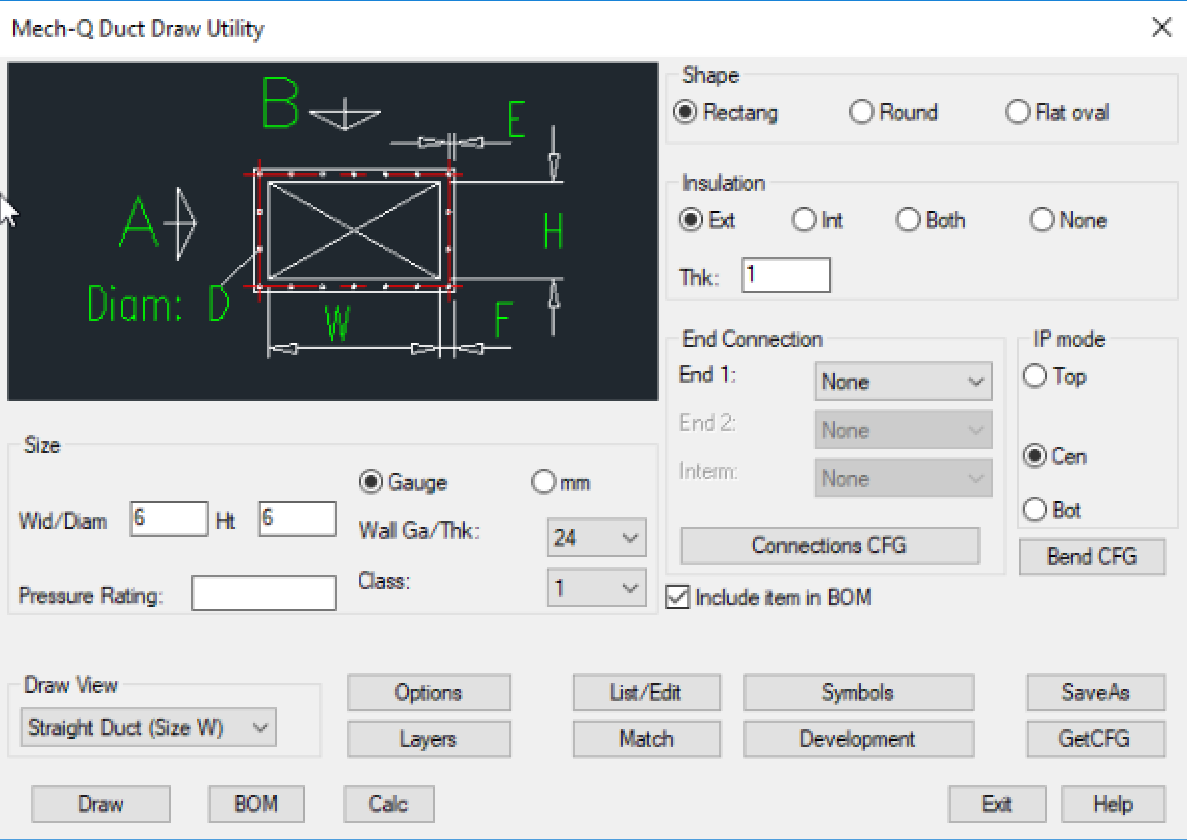 Advanced Duct Drawing Software For Autocad And Intellicad Hvac Details Screenshots Of Ducting