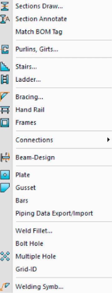 mechq structural menu